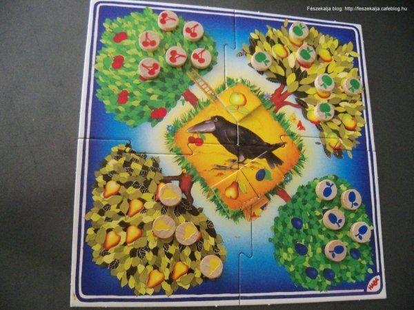Gyümölcsöskert társasjáték