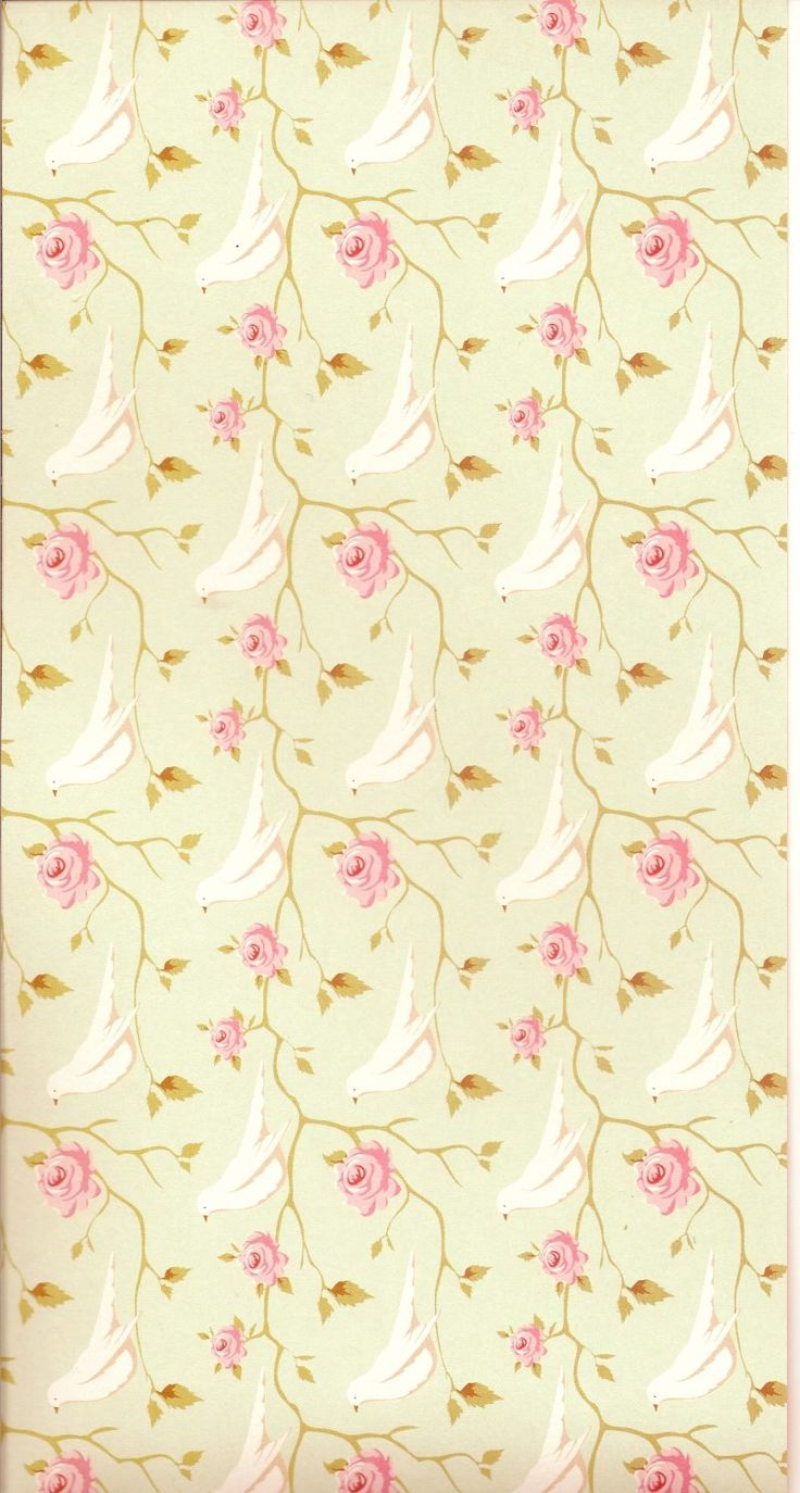 Floral vintage background - Wallpaper Vintage Paperdecoupagewallpaperscrappaperbackground Printsheetsadhesive