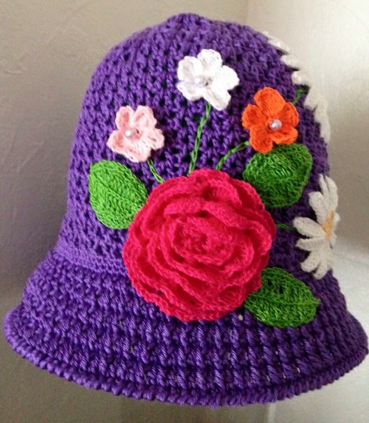 A personal favourite from my Etsy shop https://www.etsy.com/uk/listing/205515929/crochet-summer-hat