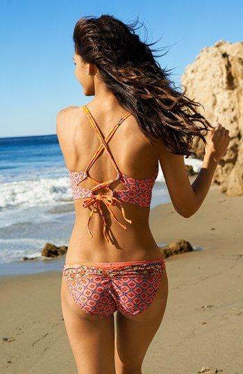Profile Blush by Gottex 'Anastasia' Underwire Bustier Bikini Top ...