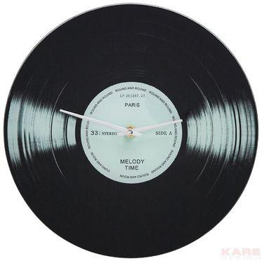 Wanduhr Record