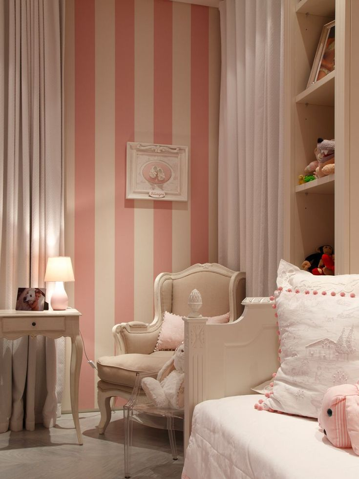 25 Best Ideas About Pink Striped Walls On Pinterest