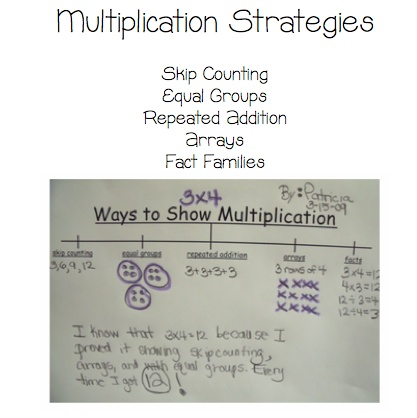 Multiplication strategies: Multiplication Trees, Art Multiplication, Charts Math Ideas, Strategies Charts, Multiplication Strategies, Multiplication Anchor Charts, Division Multiplication, Multiplication Anchors Charts, Teacher Multiplication