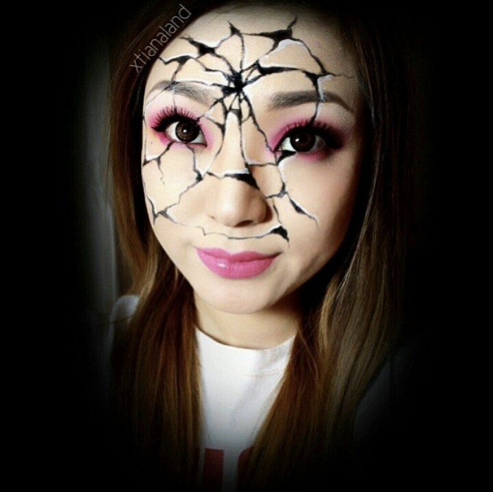 Cracked face paint!   ...