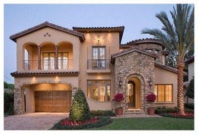 casas estilo californiano mexicano