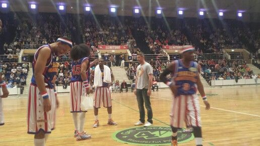 chris corben Harlem globetrotters in bucharest