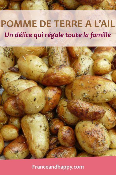 Ces pomme de terre au four à l'ail j'en suis tombée amoureuse, c'est si simple et tellement bon ! La recette complète dans cet article.