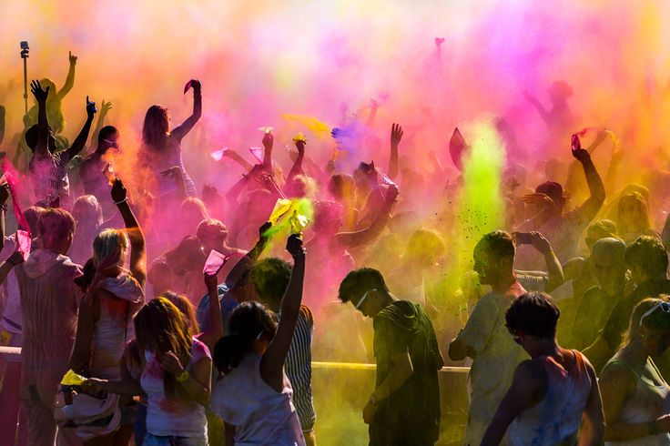 Festival of Colors II by Geo Messmer on 500px