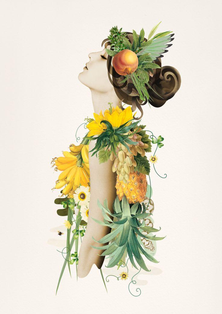 Ciara Phelan # Collage Art.