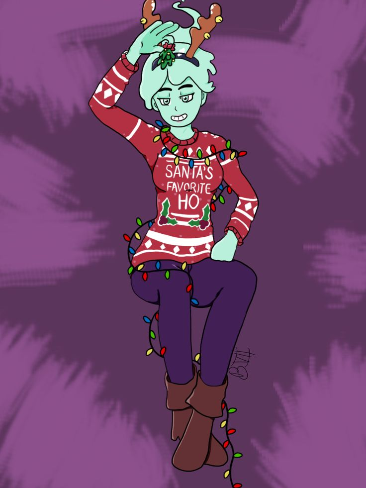 """bubbleberryvii """"I love Polly's holiday outfit"""