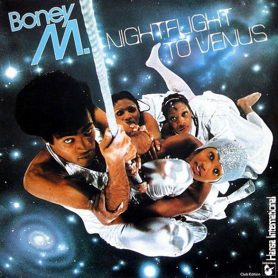 Boney M. - Nightflight To Venus - Hansa International - K 50498 - Vinyl, LP, Album - Funk / Soul - Disco - 1978 - UK