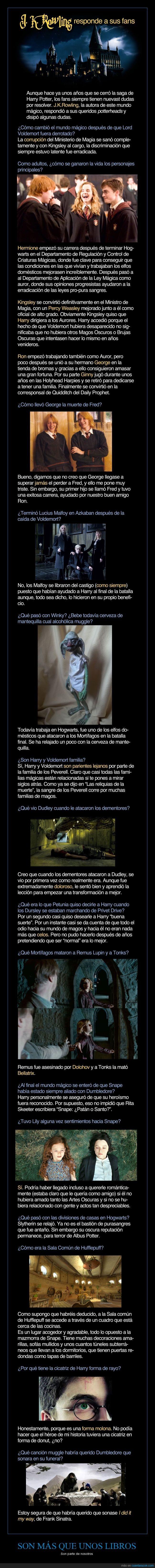 HP 4ever - Todos los enigmas sin resolver de Harry Potter, por fin contestados