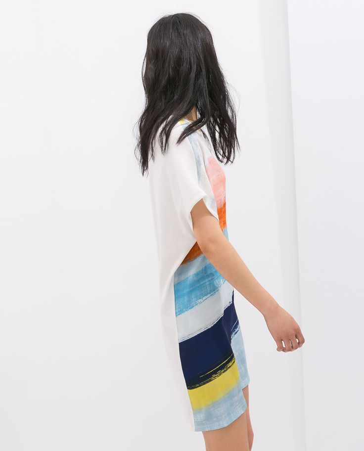 Image 3 of ASYMMETRIC DRESS from Zara