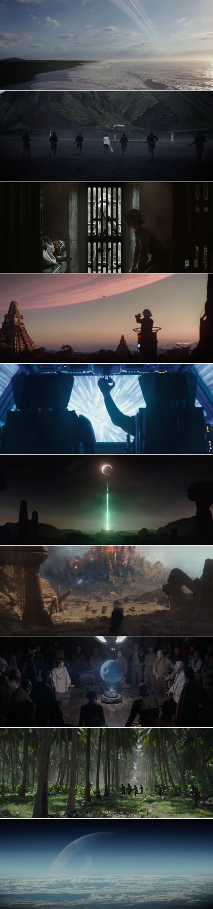"""""""We have hope. Rebellions are built on hope!"""" //  Rogue One: A Star Wars Story (2016, Gareth Edwards) cinematography by Greig Fraser"""