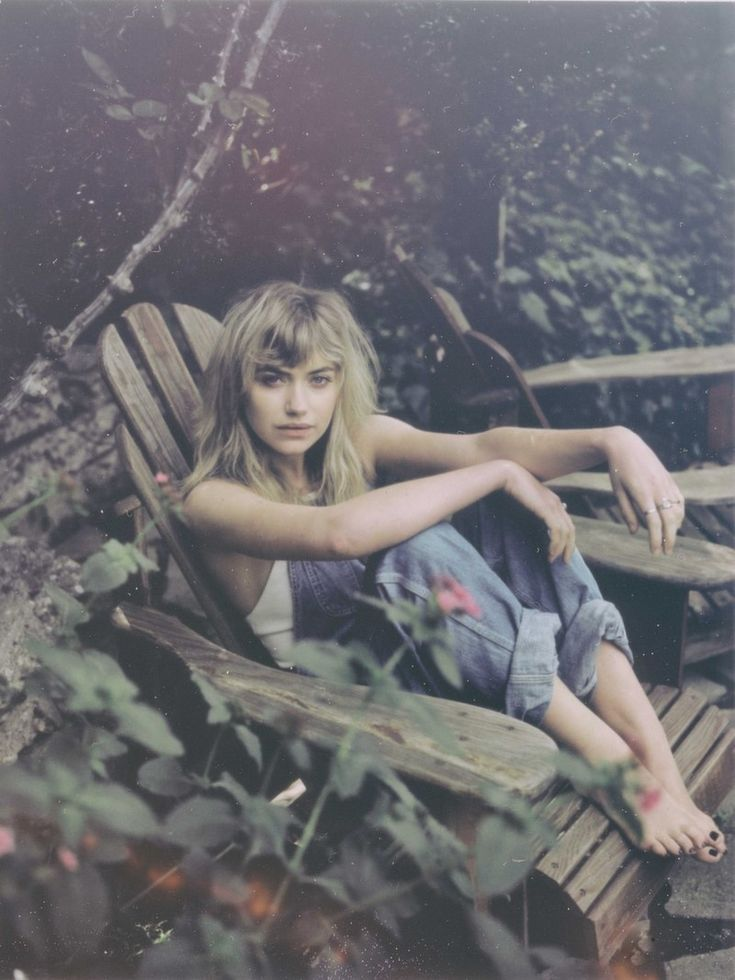 English actress Imogen Poots, photographed by Eliot Lee Hazel and styled by Liz McClean for So It Goes' third issue