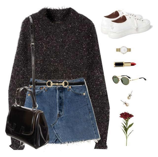 No surprise. by greciapaola on Polyvore featuring Isabel Marant, Topshop, CLUSE, J.Crew, Gucci, OKA, Givenchy and Fendi