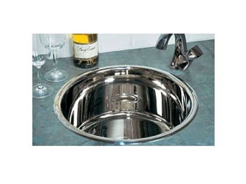 rogue 16 round metal bar sink available in copper brass stainless steel. Interior Design Ideas. Home Design Ideas