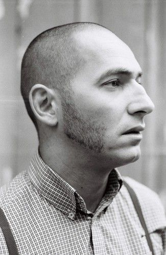 Skinhead with sideburns and braces Trojan skinheads / Ben Sherman / Brutus /Jaytex / Lonsdale / Everlast