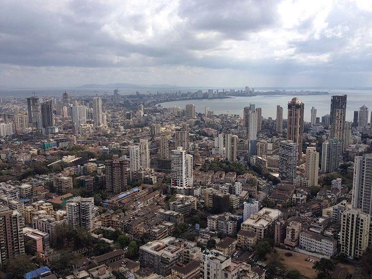 Architecture BRIO - Panorama Skyline of South Mumbai - Queen's Necklace