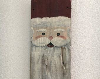 Rustic reclaimed wood fence picket snowman wall by EZpickets