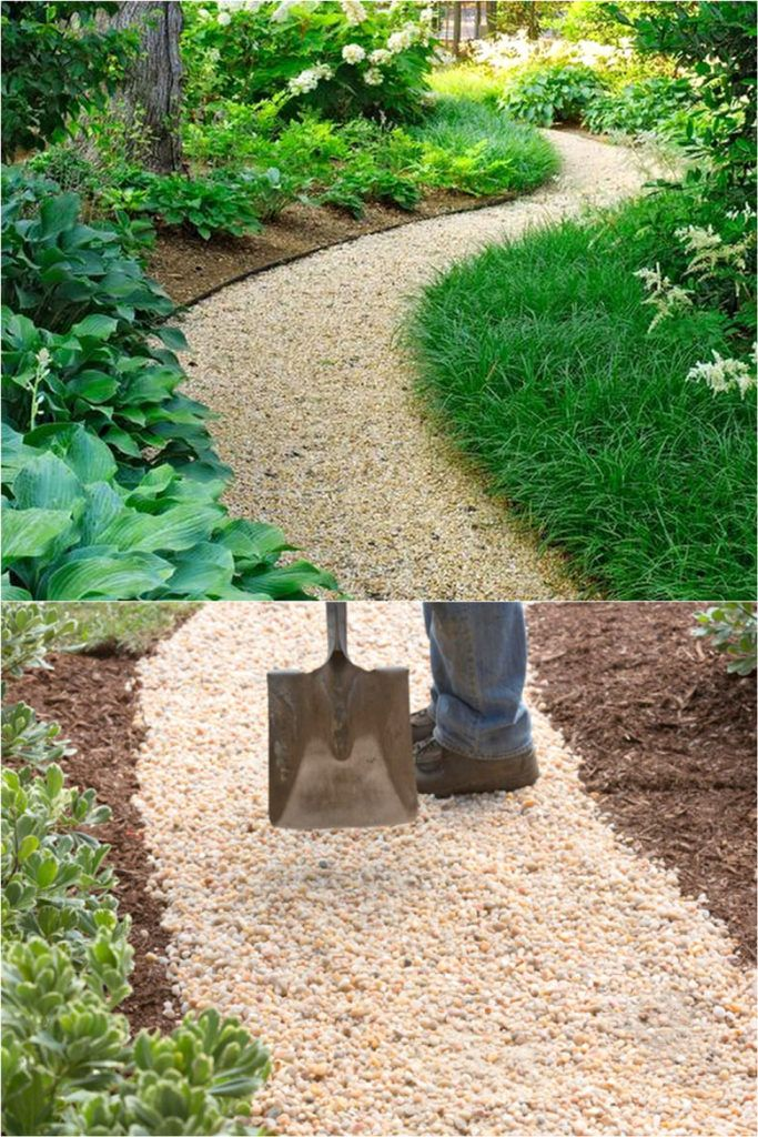 25 Beautiful Garden Path Ideas Pro Landscape Design Tips On Easy Diy Backyard Walkways With Gravel Brick Steppi In 2020 Backyard Walkway Unique Gardens Easy Garden