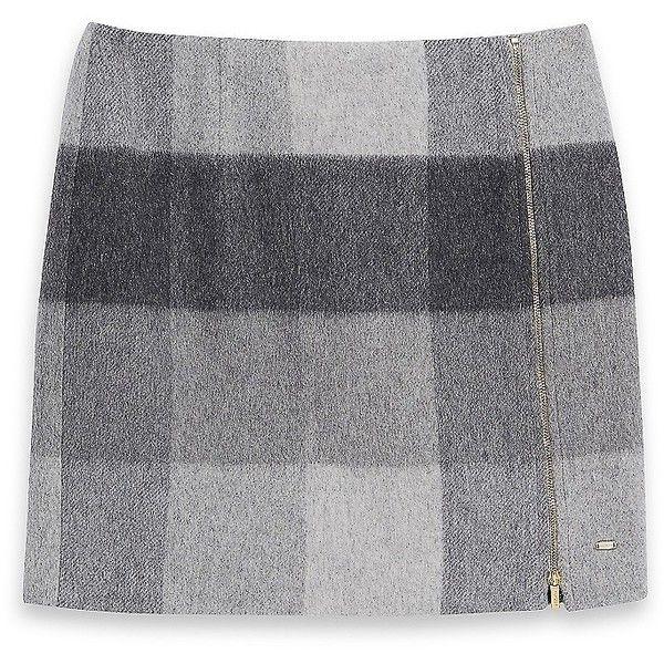 Tommy Hilfiger Buffalo Plaid Skirt found on Polyvore