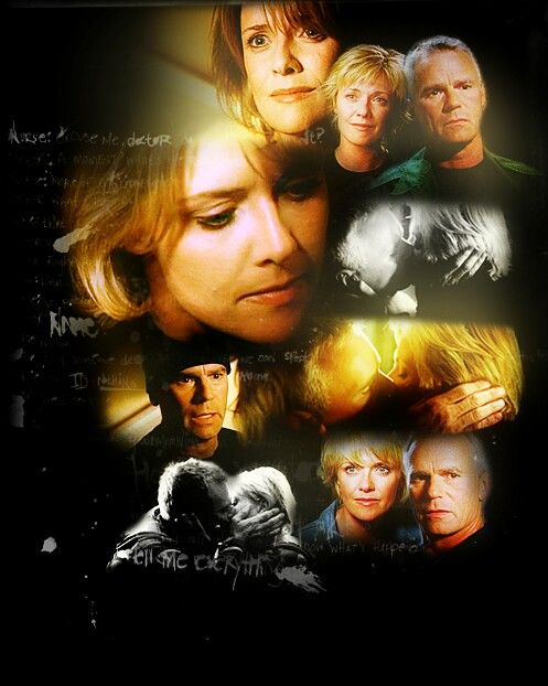 Again, not my edit but it's so perfect! Stargate Sam and Jack