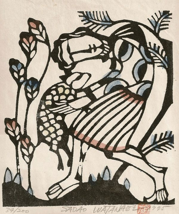 92 best Sadao Watanabe Art images on Pinterest | Folk art ...