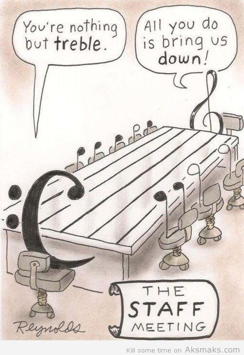 This is one one of those pins where only a music student would understand.