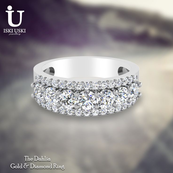Get the perfect Diamond Ring for any occasion!! Find here: http://www.iskiuski.com/jewellery/rings.html  #DiamondRings #GoldRings #Rings #IskiUski Tag PhotoTag Products