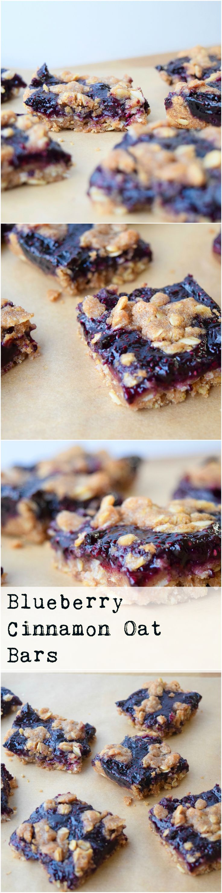 Our favorite vegan blueberry dessert! Serve as is for a snack or with ice cream :)