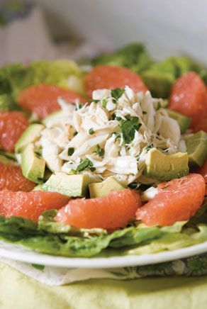 Food So Good Mall: Crab Meat Salad with Avocado and Grapefruit