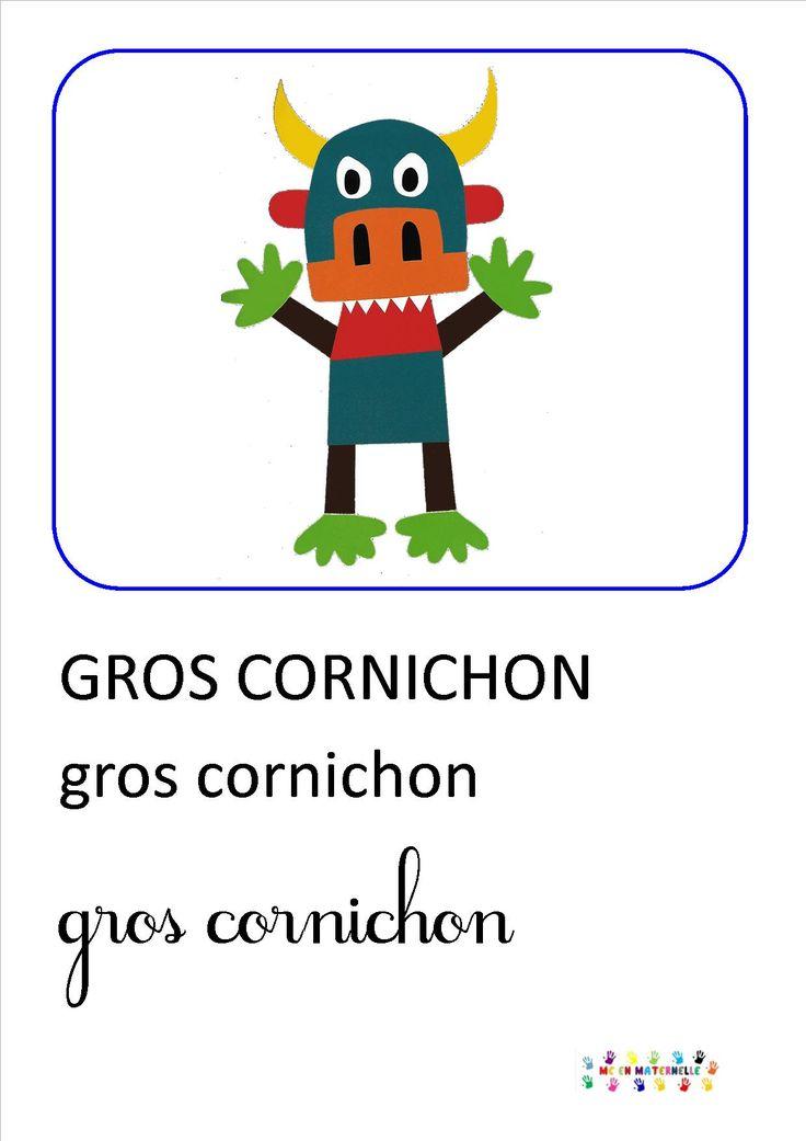 Gros cornichon – MC en maternelle
