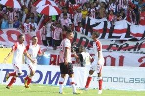 Junior 2-3 Santa Fe: El 'Expreso' volvió a ganar en Barranquilla luego de 26 años (Foto)