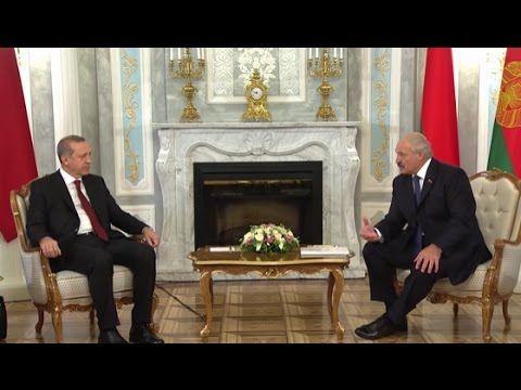 Alexander Lukashenko and Recep Erdogan