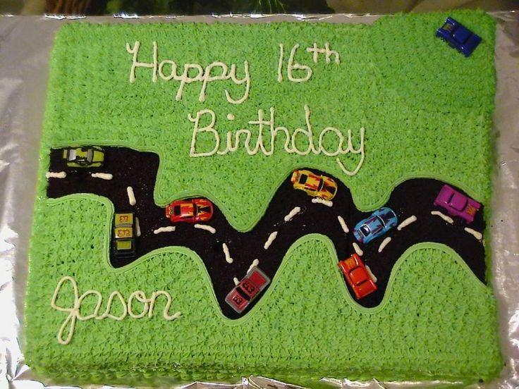 16Th Birthday Cake on Cake Central