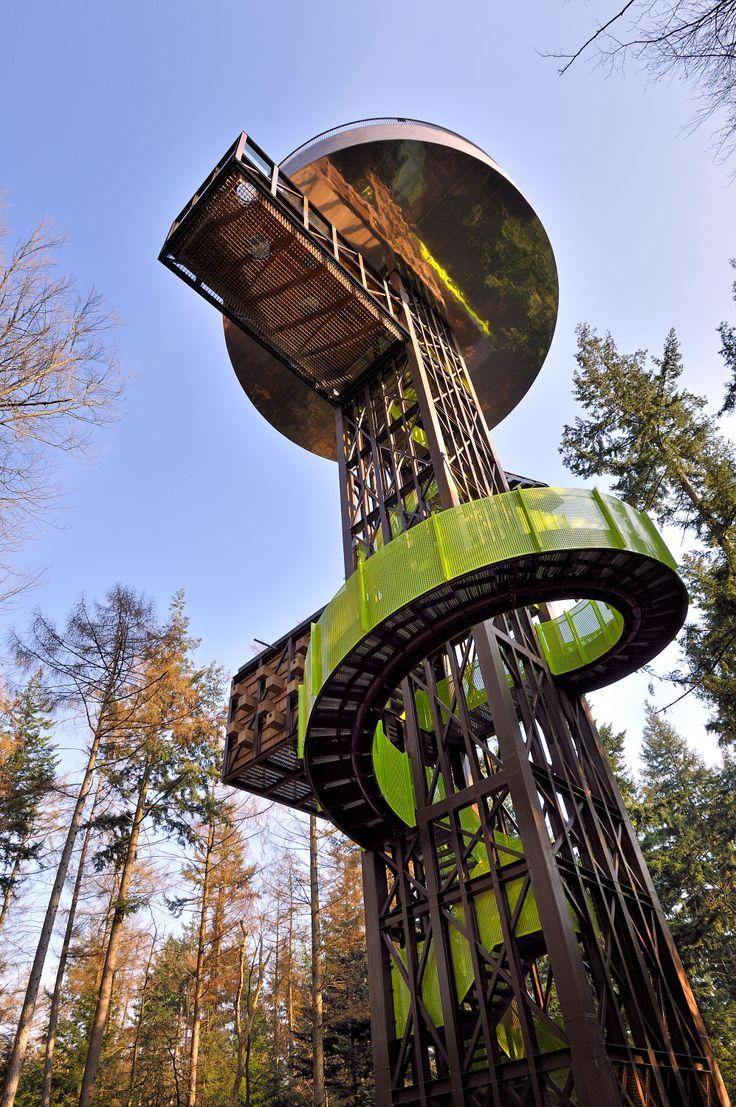 Bostoren op landgoed Schovenhorst, Veluwe