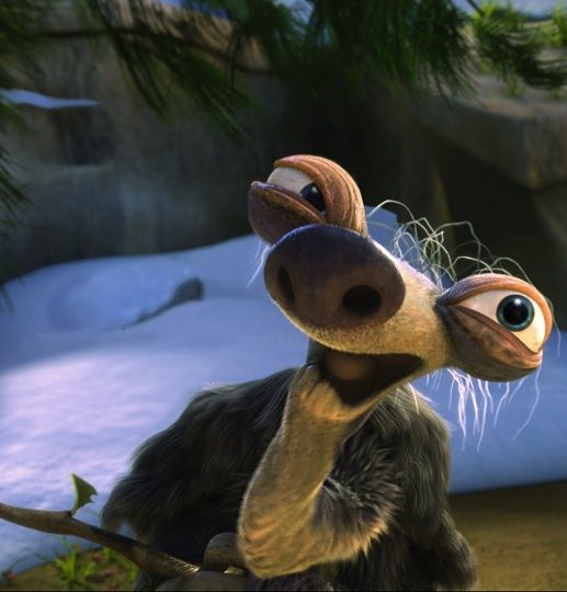 Hahahaha just love Ice age | Sloth, Funny, Funny pictures
