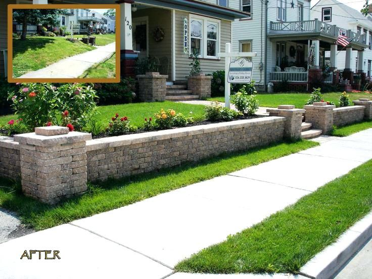 Front Yard Retaining Wall Ideas Is