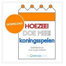 Koningsspelen - De Onderwijsstudio biedt je een leuk pakketje aan met opdrachtkaarten om een spelcircuit uit te zetten. http://onderwijsstudio.nl/gratis-spelcircuit-koningsspelen/