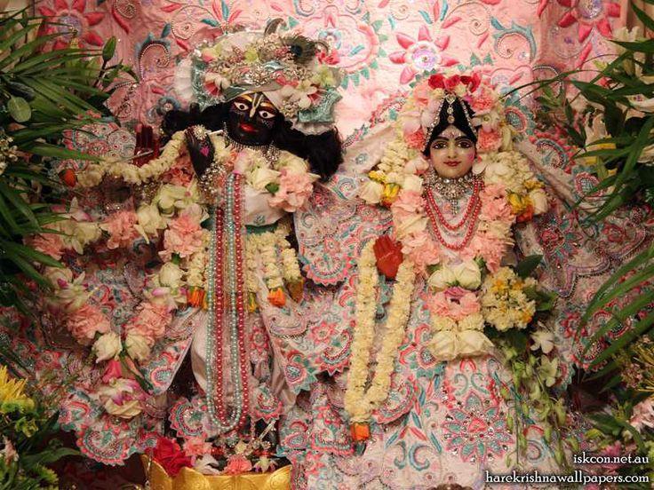 Sri Sri Radha Vallabh Wallpaper