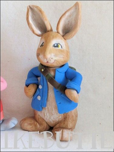 Peter Rabbit Cake Decorations Uk : Peter rabbit, Cake toppers and Rabbit on Pinterest