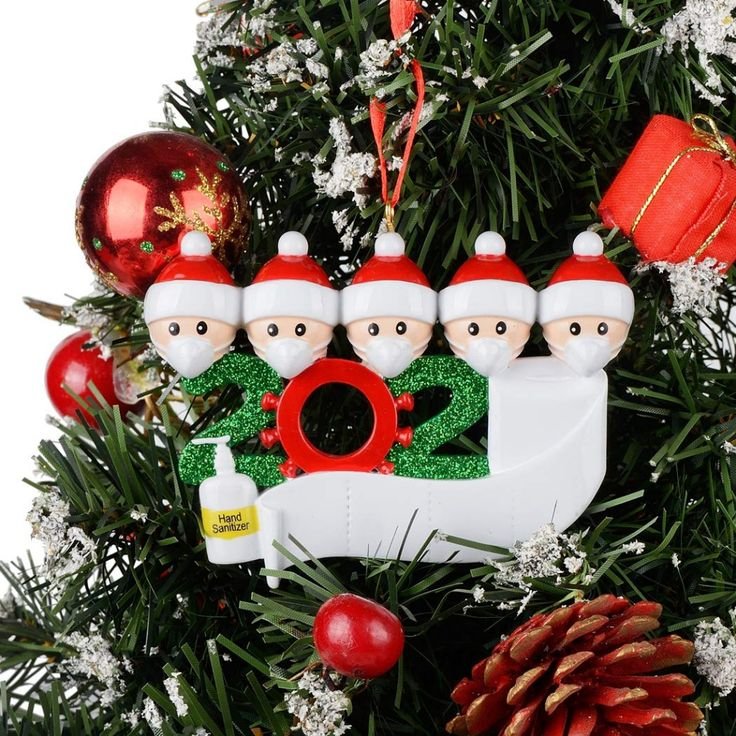 2020 Dated Christmas Ornament in 2020 Personalized