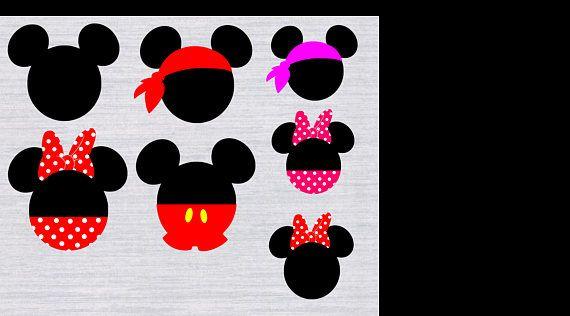 Mickey Mouse Svg Bundle Mickey Mouse Svg Files Disney Svg – HD