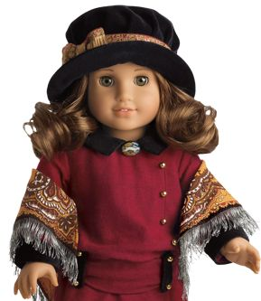 American Girl doll -- Rebecca Rubin -- Family came from Russia.  Celebrates traditions of her Russian-Jewish family.