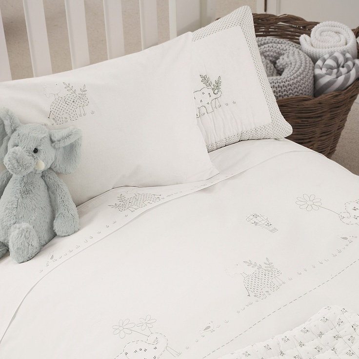 Baby Elephant Bedding From The White Company