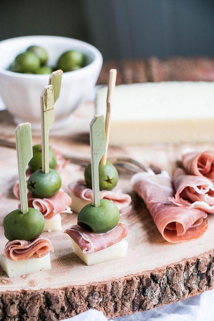 Manchego, Ham & Olive Bite | My Kitchen Love