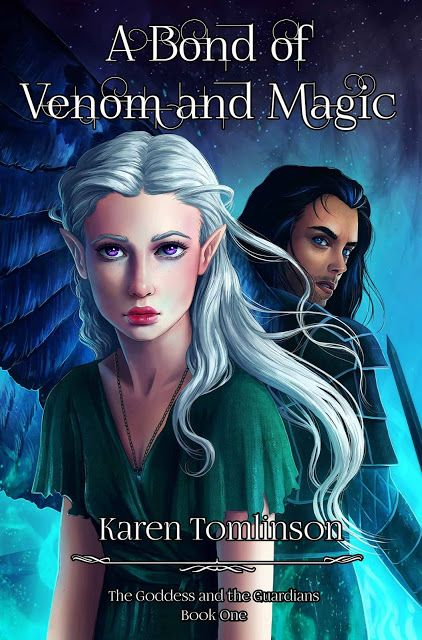 YA Bound Book Tours: Cover Reveal: A Bond of Venom and Magic by Karen T...
