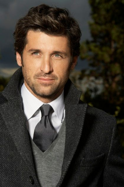 Patrick Dempsey... Just like wine, he gets better as he ages!