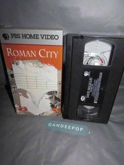 PBS Home Video David Macaulay Roman City Educational Video Movie VHS #pbs #pbshomevideo #davidmacaulay #romancity #educational #video #movie #vhs #dandeepop Find me at dandeepop.com